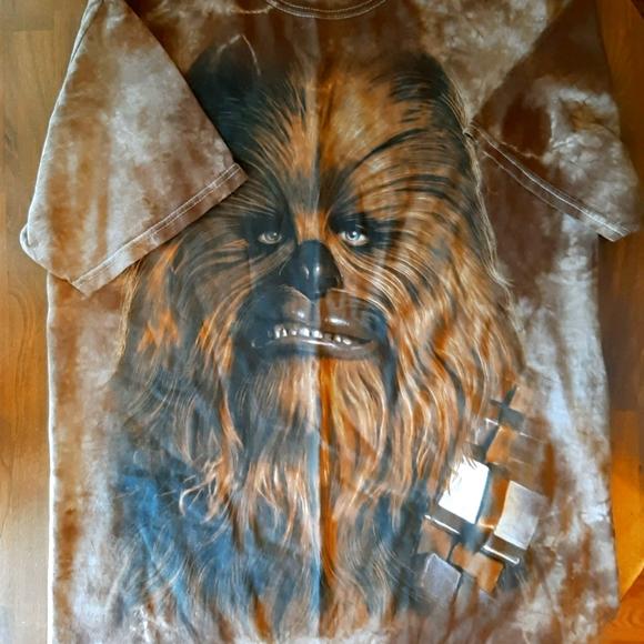 EUC Men's Medium Star Wars Brand Chewbacca T-shirt